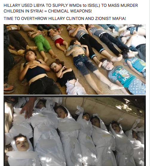 HILLARY USED LIBYA TO SUPPLY WMDs to ISIS(L) TO MASS MURDER CHILDREN IN SYRIA! = CHEMICAL WEAPONS! TIME TO OVERTHROW HILLARY CLINTON AND ZIONIST MAFIA!