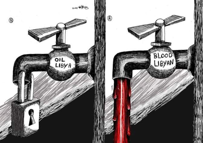 Liquidity Crisis in Libyan Banks is due to Smuggling.