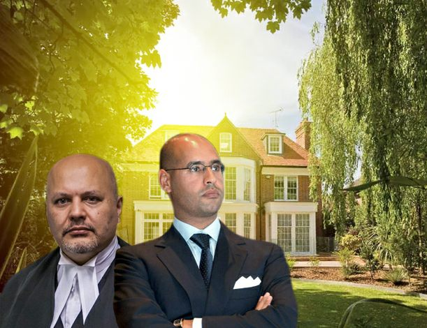 Saif al-Islam's lawyer calls on the Telegraph to withdraw its false articles about his client's home in London