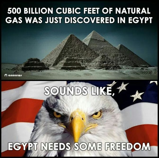 Leaked document from US Treasury reveals Egypt is sitting on a huge lake of Oil and Gas